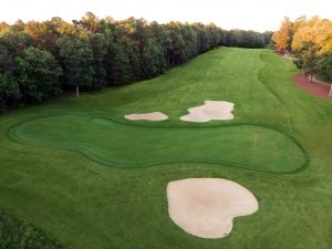Jamestown Course 17th hole